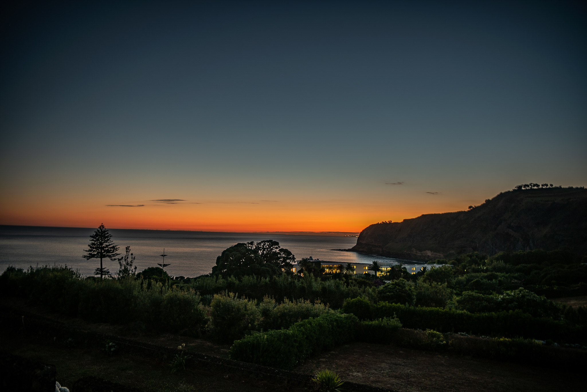 Azores sunset
